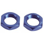 30021700  1/8 Off Road Aluminum Serrated Nut