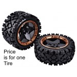 AW 80302 Rear All Round Tires for 1/5 Buggy