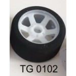 TG 0102 1/8 Front Foam Tyres Serpent Offset